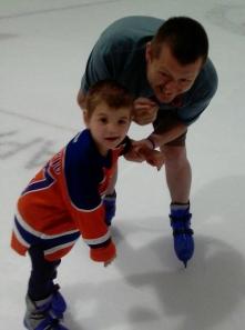 mikey ice skat